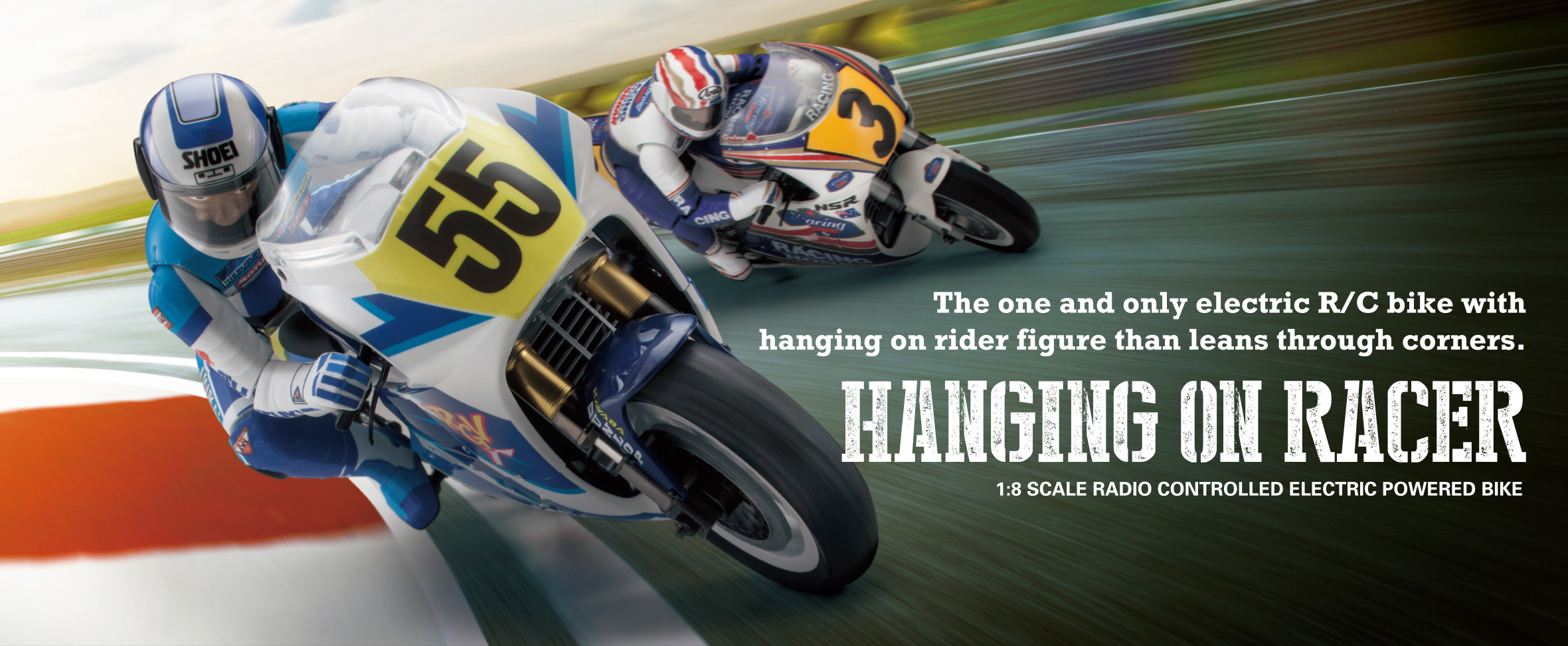 HANGING ON RACER