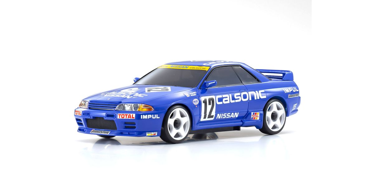 MINI-Z AWD CALSONIC SKYLINE (R32 GT-R)1990 #12 32618CS