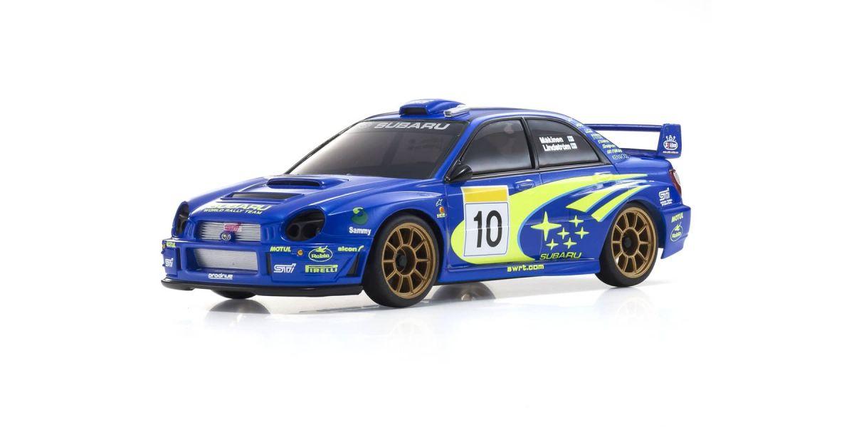 ASC MA020N SUBARU Impreza WRC 2002 MZP448WR