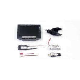 2.4GHz FPVシステム KYOSHO オンボードモニター LiPo&USB充電器付き 82724BC
