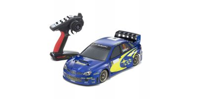 Radio Controlled .15 Engine Powered Touring Car Series PureTen GP 4WD FW-06 readyset SUBARU IMPREZA WRC 2006 w/KT-231P+ 33209