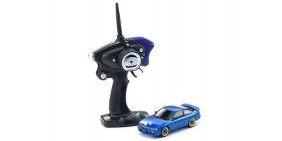 ミニッツAWD MA-020スポーツ レディセット 日産 シルエイティ LED付 ブルー 【ドリフトタイヤ標準装着済み】 32136BL