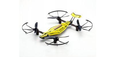 ドローンレーサー DRONE RACER ZEPHYR (ゼファー) スマッシング イエロー レディセット 20572Y  ※京商オンラインショップだけの限定特価で販売中。通常価格:税別¥26,000 (毎週5台限定)