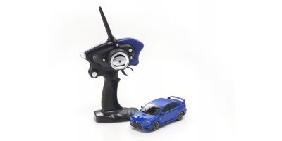 MINI-Z AWD Sports MITSUBISHI LANCER EVOLUTION X Metallic Blue MA-020S Readyset RTR 32142MB