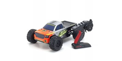 1/10 Scale Radio Controlled .15 Engine Powered 4WD QRC Series Readyset Nitro Tracker w/KT-231P+ 33101