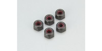 Nut(M2.6x3.0) Nylon (5pcs) 1-N2630N