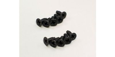 TP Flat Head Screw(M3x10/10pcs) 1-S33010TP