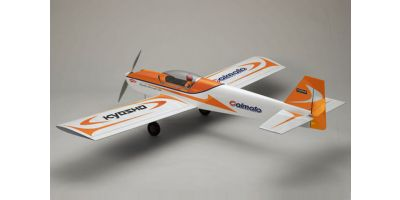 SQS Electric Low Wing Airplane Calmato Sports EP 1400 Orange 10060OR