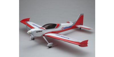 1/7 R/C SQS Electric Powered Aircraft Calmato ST EP 1400 Red 10062R