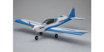 SQS Electric Low Wing Trainer Calmato SP EP 1400 Blue 10063BL