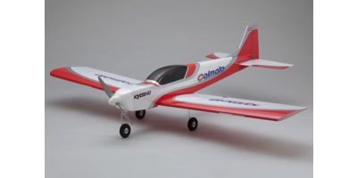 SQS Electric Low Wing Trainer Calmato SP EP 1400 Red 10063R