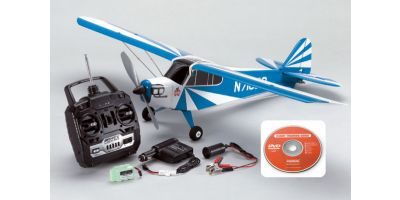 EP CLIPPED WING CUB M24 READYSET BLUE 10225