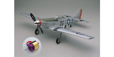 ELECTRIC BACKYARD FLYER SERIES P-51D MUSTANG EP400 BLS W/CYCLON-MI 10231BLS