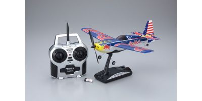 1/19 Electric Powered Micro Radio Controlled Airplane MINIUM EDGE 540 RedBull readyset (Chambliss)  10655RS-CH
