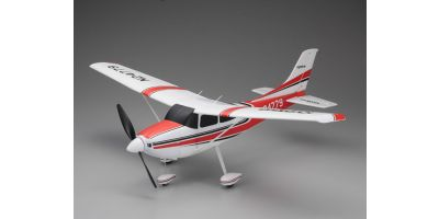 700mm Size Super Scale Flying Model CESSNA 182 Skylane VE29 PIP Red 10932R