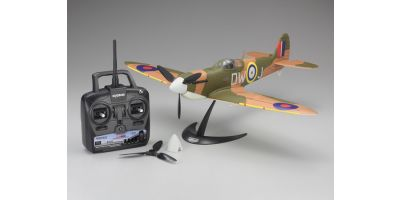 1/17 Scale SUPER SCALE FLYING MODEL SPITFIRE Mk.V VE29 Readyset  10951RS