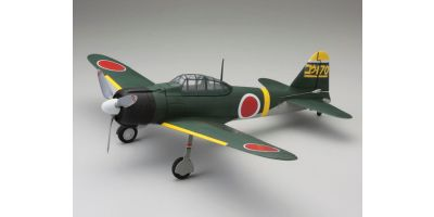 1/17 Scale SUPER SCALE FLYING MODEL aiRium A6M2b ZERO VE29 PIP Green 10953G