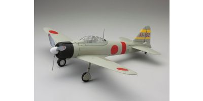 1/17 Scale SUPER SCALE FLYING MODEL aiRium A6M2b ZERO VE29 PIP Light Grey 10953L