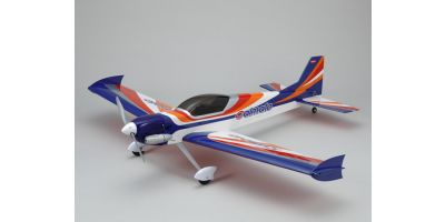 SQS 25Class Low Wing Airplane Calmato ST GP 1400 Blue 11062BL