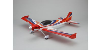 SQS 25Class Low Wing Airplane Calmato ST GP 1400 Red 11062R