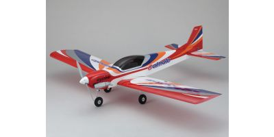 SQS 25-Class Low Wing Trainer Calmato SP GP 1400 Red 11063R