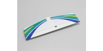 水平尾翼セット(カルマート グリーン)  11211G-13