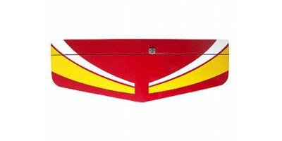 水平尾翼セット(カルマート/レッド)  11211R-13