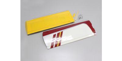 主翼セット(カルマート40スポーツ/レッド)  11215R-11