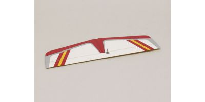 Horizontal Tail Wing (Calmato 60 Sports Red) 11216R-13