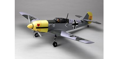 40 CLASS ENGINE POWERED WARBIRD SCALE AIRCRAFT Messerschmitt BF109E                    <with retractable undercarriage>  11824L