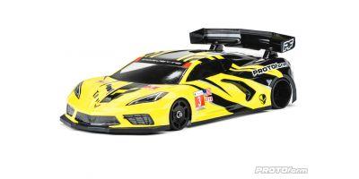 1/12 Corvette C8 ボディ (GT12/1575-20) 612089