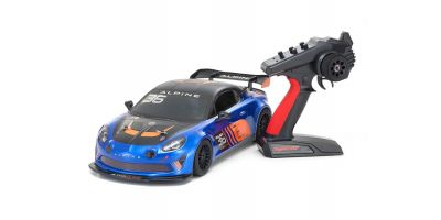 Radio Controlled .15 Engine Powered Touring Car Series PureTen GP 4WD FW-06 readyset Alpine GT4 w/KT-231P+ 33212