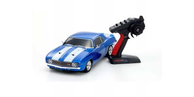 1/10 Scale Radio Controlled Electric Powered 4WD FAZER Mk2 FZ02 Series Readyset 1969 Chevy® Camaro® Z/28 Le Mans Blue 34418T1