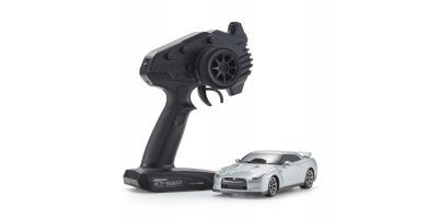 MINI-Z RWD NISSAN GT-R (R35) Ultimate Metal Silver Readyset RTR 32331S