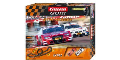 1/43 スロットカー カレラ GO!!! DTM ヒーローズ(アナログタイプ) 20062388