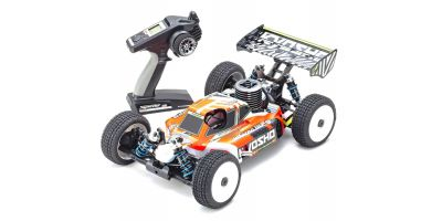 1/8 Scale Radio Control .21 Engine Powered 4WD Racing Buggy Readyset INFERNO MP9 TKI4 V2 33021