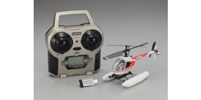 EP Micro Helicopter Minium AD CALIBER 120 Type R Ver.2 Readyset with floats 20102RS-M1FL