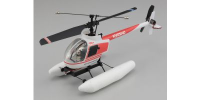EP Micro Helicopter Minium AD CALIBER 120 Type R Ver.2 Helicopter Set with floats 20102V2FL