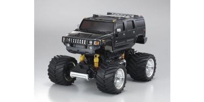 R/C Electric Powered Monster Truck Hummer H2 Black SP Limited 30083A2BK