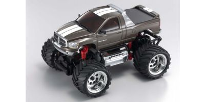 R/C EP MONSTER TRUCK Dodge Ram 1500 Gun Metallic 30086GM