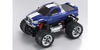 R/C EP MONSTER TRUCK Dodge Ram 1500 Metallic Blue 30086MB