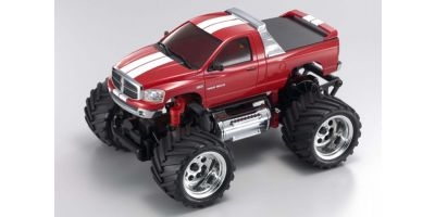 R/C Electric Powered Monster Truck Dodge Ram 1500 Metallic Red 30086MR
