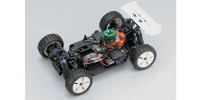 1/16 R/C ELECTRIC POWERED 4WD RACING BUGGY MINI INFERNO PLUS ARR transmitter not included 30121P