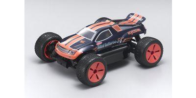 1/16 EP 4WD r/s ハーフ8 ミニインファーノST Gストライプ  30122GS