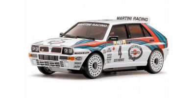 R/C EP TOURING CAR LANCIA DELTA No.4/1992 Monte Carlo Rally Winner 30562M