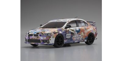 R/C EP TOURING CAR KYOSHO ALICE MOTORS MITSUBISHI LANCER EVOLUTION X  30569ZA
