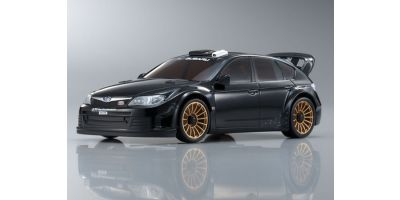 R/C EP TOURING CAR SUBARU IMPREZA WRC2008 (Plain Color Version) Black 30577ZBK