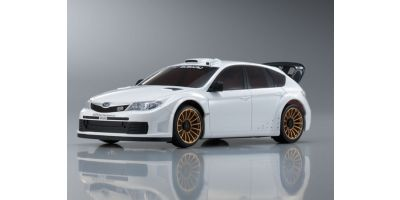 R/C EP TOURING CAR SUBARU IMPREZA WRC2008 (Plain Color Version) White 30577ZW
