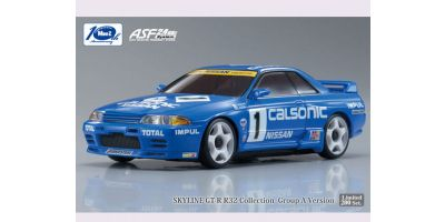 R/C EP TOURING CAR CALSONIC SKYLINE No.1 1991 JTC Body/Chassis Set (Full Ball Bearing Specifications) 30580C1