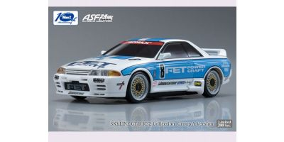 R/C EP TOURING CAR FET SPORTS GT-R No.8 1993 JTC Body/Chassis Set (Full Ball Bearing Specifications) 30580FE